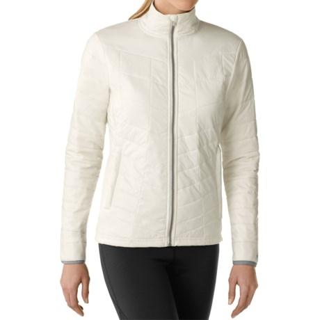SmartWool PhD Smartloft Full-Zip Jacket - Merino Wool (For Women) in Natural