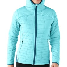 SmartWool PhD SmartLoft Hoodie - Full Zip, Insulated  (For Women) in Clearwater - Closeouts