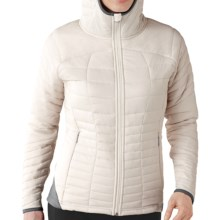 SmartWool PhD SmartLoft Hoodie - Full Zip, Insulated  (For Women) in Natural - Closeouts