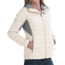 SmartWool PhD SmartLoft Hoodie with Chest Pocket - Merino Wool, Insulated (For Women) in Natural - Closeouts