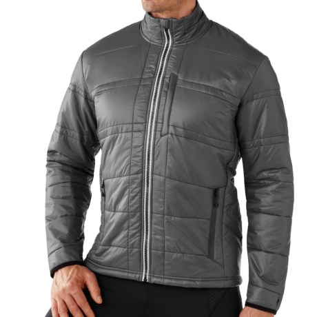 SmartWool PHD SmartLoft Jacket - Merino Wool-Blend Lining (For Men) in Graphite