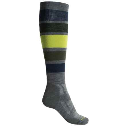 SmartWool PhD Snowboard Socks - Merino Wool, Over the Calf (For Men) in Medium Gray - 2nds