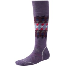 SmartWool PhD Snowboard Socks - Merino Wool, Over the Calf (For Women) in Desert Purple - Closeouts