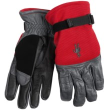 SmartWool PhD Spring Gloves (For Men and Women) in Bright Red - Closeouts