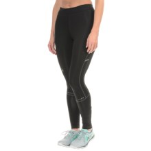 SmartWool PhD Tech Tights - Merino Wool, Mid Rise (For Women) in Black - Closeouts