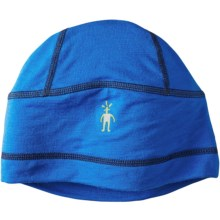 SmartWool PhD Training Beanie - Merino Wool (For Men and Women) in Bright Blue - Closeouts