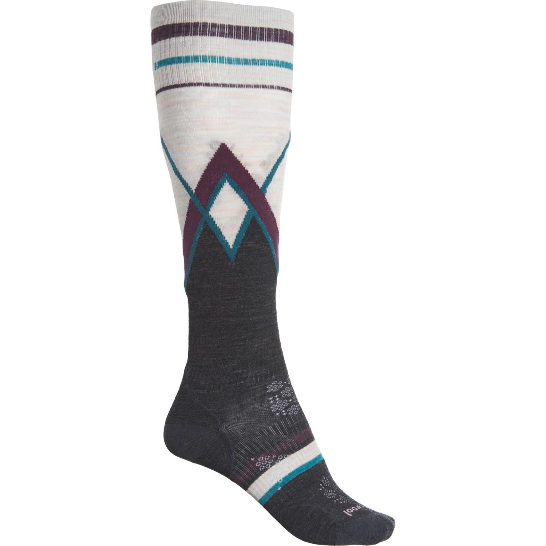 Smartwool PHD Ultra Light Pattern Womens Ski Socks