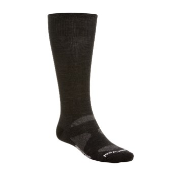 SmartWool PhD Ultra-Light Ski Socks - Merino Wool (For Men and Women) in Black