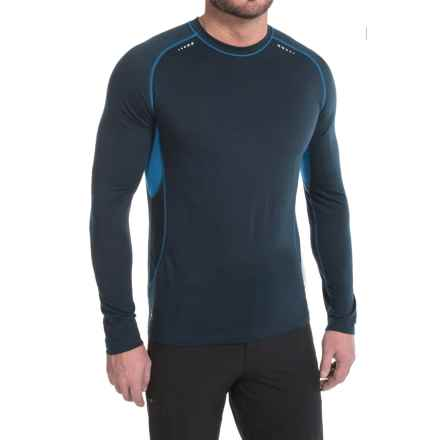 SmartWool PhD Ultralight Base Layer Top - Merino Wool, Long Sleeve (For Men) in Deep Navy - Closeouts