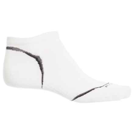 SmartWool PhD Ultralight Cycle Socks - Merino Wool, Below the Ankle (For Men) in White - Closeouts