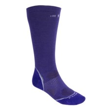 SmartWool PhD Ultralight Graduated Compression Socks - Merino Wool (For Men and Women) in Liberty - 2nds