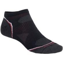 SmartWool PhD Ultralight Micro Running Socks (For Men and Women) in Black - 2nds