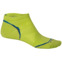 SmartWool PhD Ultralight Micro Running Socks (For Men and Women) in Smartwool Green - 2nds