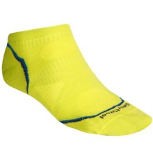 SmartWool PhD Ultralight Micro Running Socks (For Men and Women) in Sw Green - 2nds