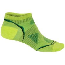 SmartWool PhD Ultralight Micro Running Socks - Merino Wool, Below the Ankle (For Women) in Smartwool Green - 2nds