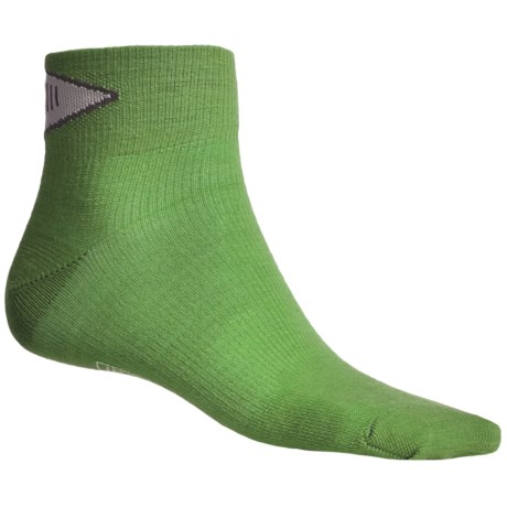 SmartWool PhD Ultralight Mini Running Socks - Merino Wool (For Men and Women) in Lime