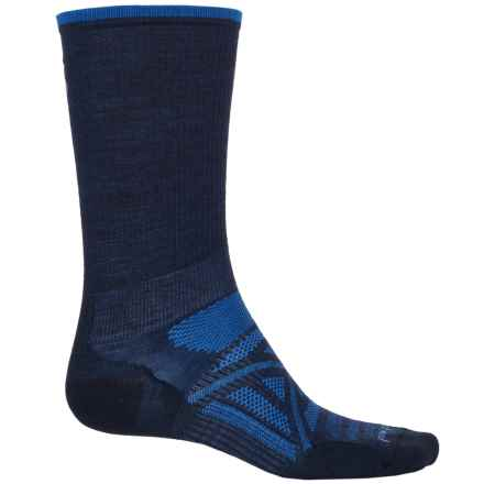 SmartWool PhD Ultralight Outdoor Socks - Merino Wool, Crew (For Men) in Deep Navy - 2nds