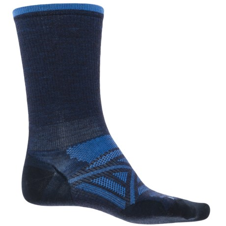 SmartWool PhD Ultralight Outdoor Socks - Merino Wool, Crew (For Men) in Deep Navy