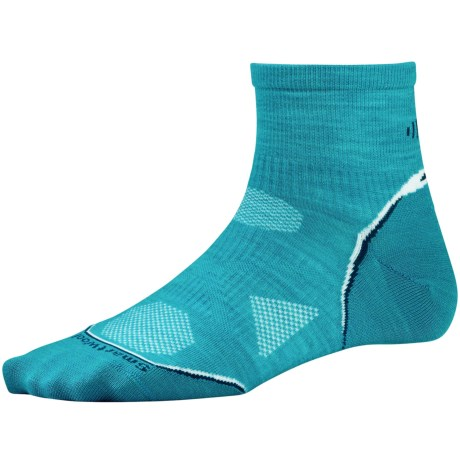 SmartWool PhD Ultralight Run Socks - Merino Wool (For Women) in Capri