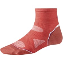 SmartWool PhD Ultralight Run Socks - Merino Wool (For Women) in Poppy - 2nds