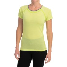 SmartWool PhD Ultralight T-Shirt - UPF 20, Merino Wool, Short Sleeve (For Women) in Citron - Closeouts