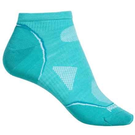 SmartWool PhD V2 Cycle Ultralight Micro Mini Socks - Merino Wool, Ankle (For Women) in Light Capri - 2nds