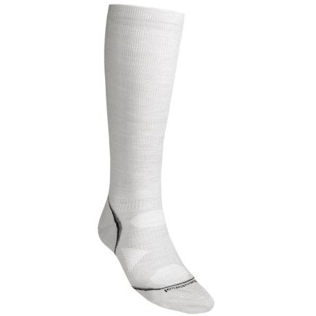 SmartWool PhD V2 Graduated Compression Ultralight Socks - Merino Wool (For Men and Women) in Black