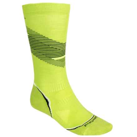 SmartWool PhD V2 Graduated Compression Ultralight Socks - Merino Wool (For Men and Women) in Smartwool Green - 2nds