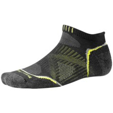 SmartWool PhD V2 Outdoor Light Micro Socks - Merino Wool, Below the Ankle (For Men and Women) in Black - 2nds