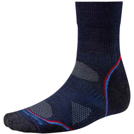 SmartWool PhD V2 Outdoor Light Socks - Merino Wool, 3/4 Crew (For Men) in Navy - 2nds
