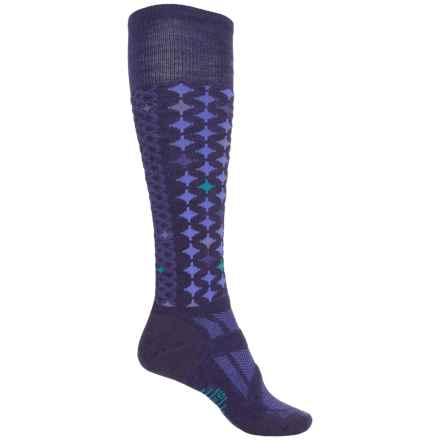 SmartWool PhD V2 Outdoor Socks - Merino Wool, Crew (For Women) in Liberty - Closeouts