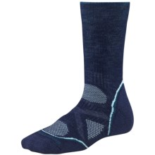 SmartWool PhD V2 Outdoor Socks - Merino Wool, Crew (For Women) in Navy - Closeouts