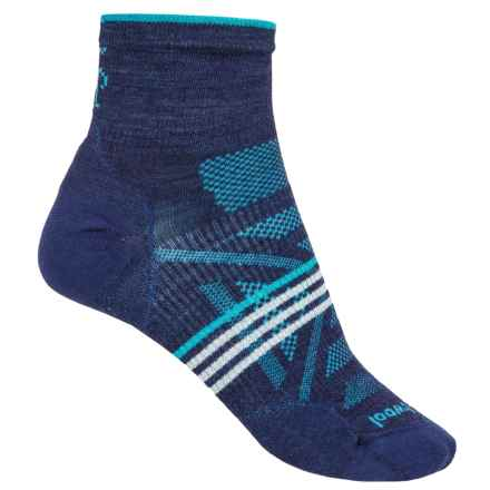 SmartWool PhD V2 Outdoor Ultralight Mini Socks - Merino Wool, Ankle (For Women) in Ink - Closeouts