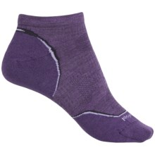 SmartWool PhD V2 Outdoor Ultralight Socks - Merino Wool, Below the Ankle (For Women) in Desert Purple - 2nds