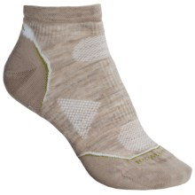 SmartWool PhD V2 Outdoor Ultralight Socks - Merino Wool, Below the Ankle (For Women) in Oatmeal - 2nds