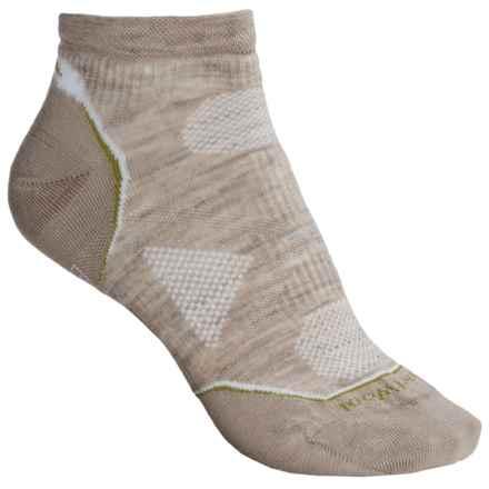 SmartWool PhD V2 Outdoor Ultralight Socks - Merino Wool, Below the Ankle (For Women) in Oatmeal - 2nds