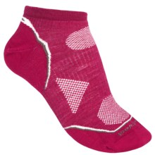 SmartWool PhD V2 Outdoor Ultralight Socks - Merino Wool, Below the Ankle (For Women) in Persian Red - 2nds