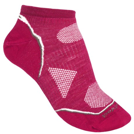 SmartWool PhD V2 Outdoor Ultralight Socks - Merino Wool, Below the Ankle (For Women) in Persian Red