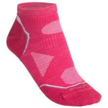 SmartWool PhD V2 Outdoor Ultralight Socks - Merino Wool, Below the Ankle (For Women) in Punch - 2nds