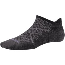 SmartWool PhD V2 Run Elite Socks - Merino Wool, Below the Ankle (For Women) in Black - 2nds
