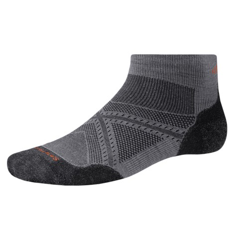 SmartWool PhD V2 Run Light Socks - Merino Wool, Ankle (For Men and Women)