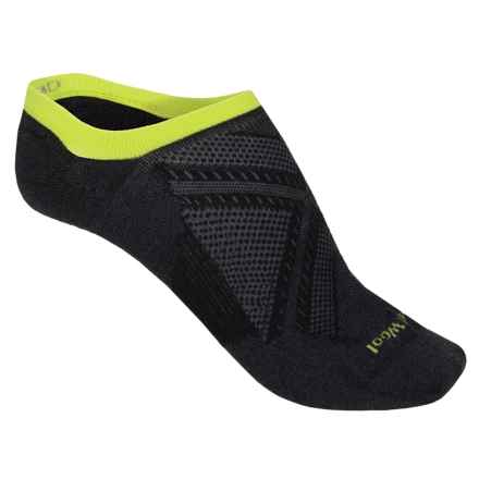 Smartwool PhD V2 Run Ultralight Socks - Merino Wool, Below the Ankle (For Men and Women) in Black - 2nds