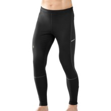 SmartWool PhD Wind Tights - Merino Wool (For Men) in Black - Closeouts