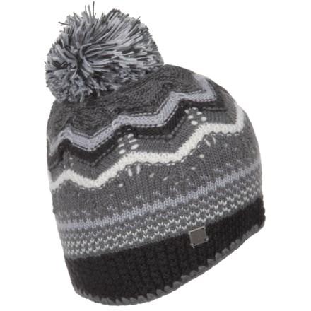 00dad5824ea06 SmartWool Pine Lake Chevron Hat - Merino Wool (For Women) in Charcoal  Heather -
