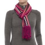 SmartWool Pine Lake Chevron Scarf - Merino Wool (For Men and Women)