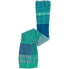 SmartWool Pipp Footless Tights - Merino Wool (For Girls) in Spearmint - 2nds