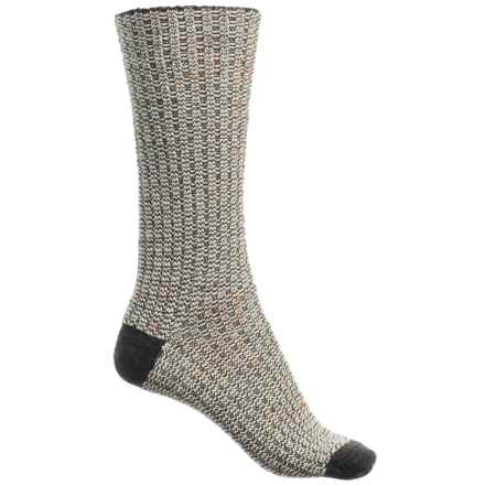SmartWool Premium Broadmoore Marl Boot Socks - Merino Wool, Mid Calf (For Women) in Charcoal Heather - Closeouts