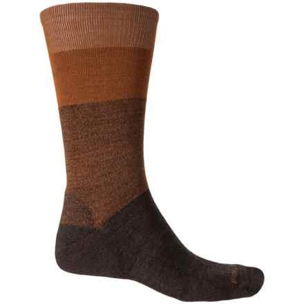 SmartWool Premium Faversham Socks - Merino Wool, Crew (For Men) in Chestnut Heather - 2nds