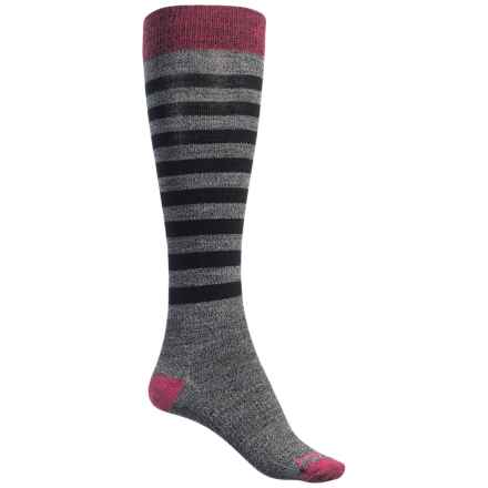 SmartWool Premium Gypsum Socks - Merino Wool, Over the Calf (For Women) in Black - Closeouts