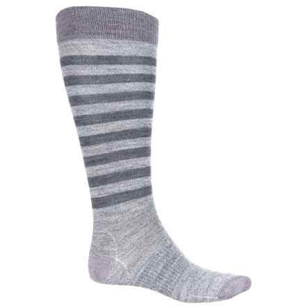 SmartWool Premium Gypsum Socks - Merino Wool, Over the Calf (For Women) in Medium Gray Heather - Closeouts